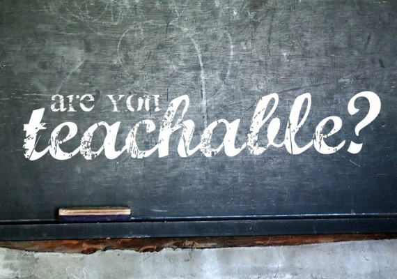 Are you a Teachable Leader?